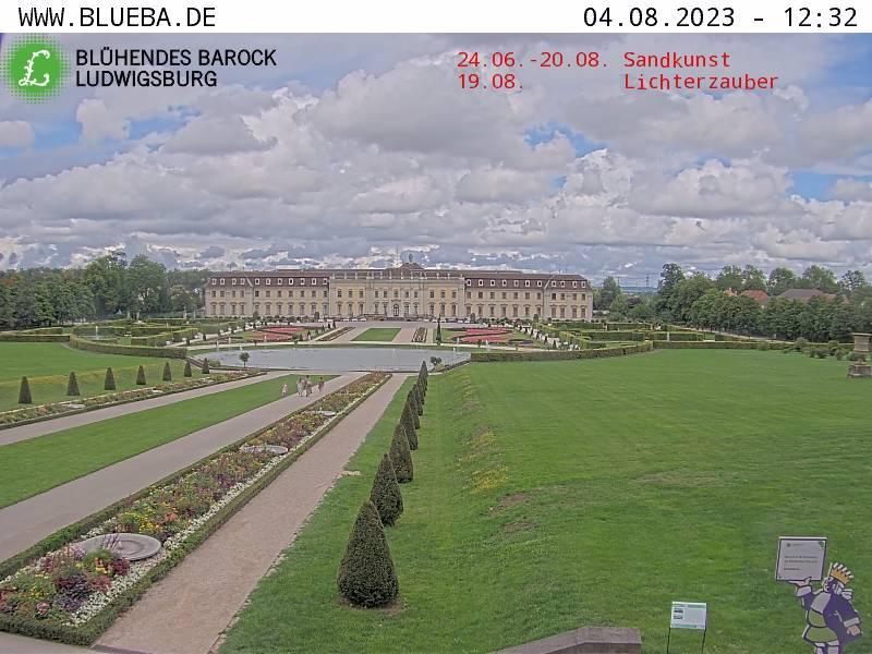 Ludwigsburg - Residenzschloss - Das aktuelle WebCam-Bild aus dem Blühenden Barock